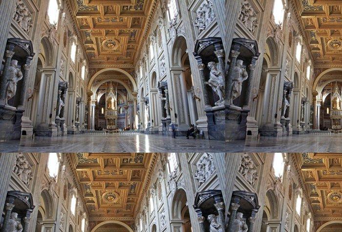 Vinylová Tapeta Řím - bazilika Lateránské baziliky sv. Jan - Evropská města