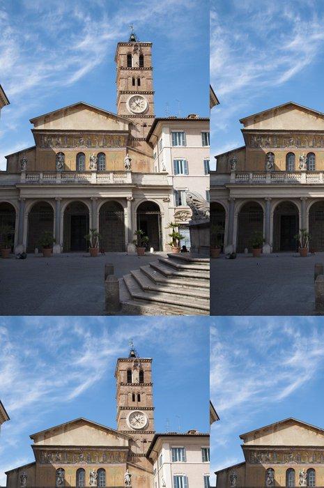 Vinylová Tapeta Řím - bazilika Santa Maria in Trastevere - Evropská města