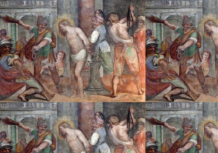 Vinylová Tapeta Řím - fresco z Bičování Krista od Santa Prassede - Témata