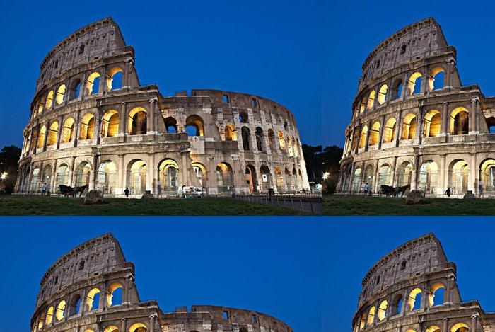 Tapeta Pixerstick Řím, Koloseum za soumraku - Témata