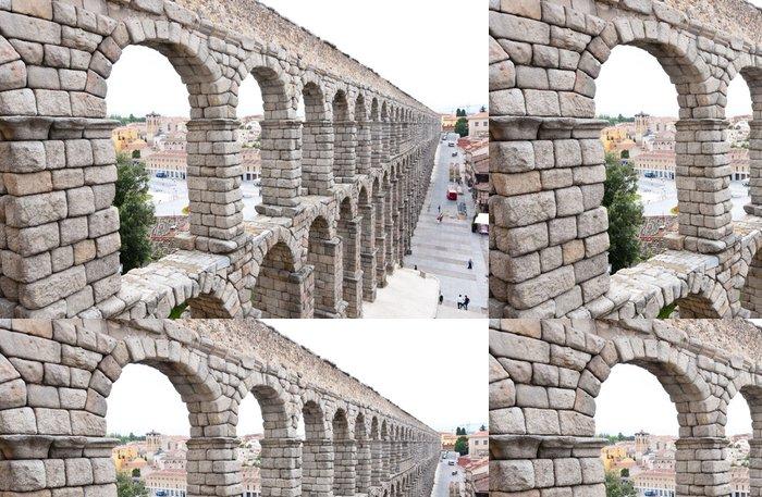 Tapeta Pixerstick Římský akvadukt most Segovia, první AD století. - Evropa