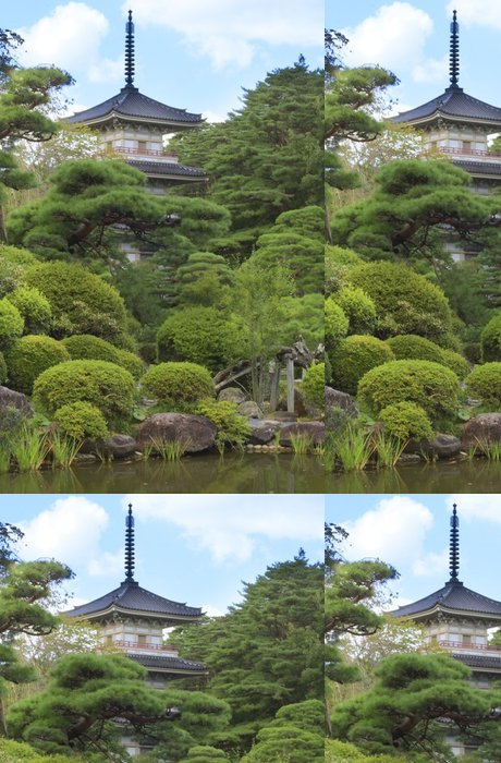 Tapeta Pixerstick Rinoji chrám - Asie