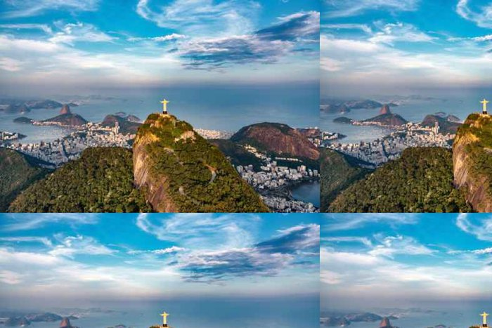Tapeta Pixerstick Rio De Janeiro krajina - Krajiny