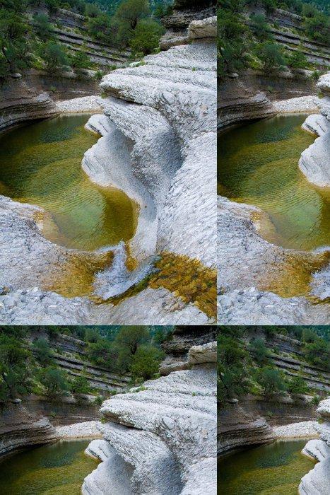 Tapeta Pixerstick Rio Flumineddu, Gole Gorropu, Sardegna - Evropa
