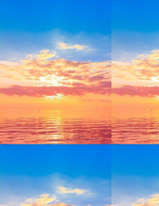 Tapeta Pixerstick Rising Sun Panorama - Roční období
