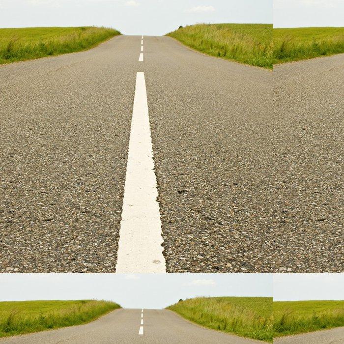 Vinylová Tapeta Road, prázdné silnice v zemi. - Evropa