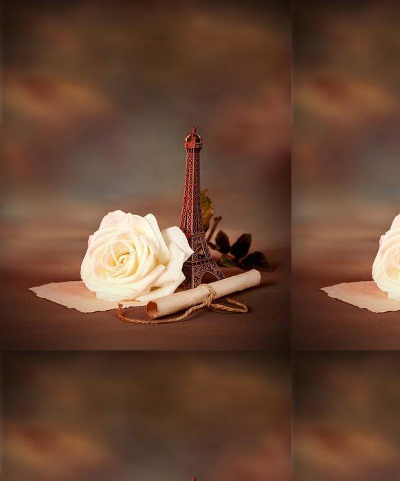 Vinylová Tapeta Romantické zátiší - Mezinárodní svátky