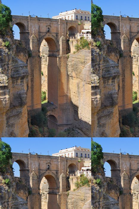 Tapeta Pixerstick Ronda Bridge - Evropa