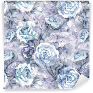 Tapeta Pixerstick Roses bezešvé vzor
