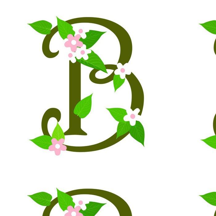 Tapeta Pixerstick Rostliny typ písma, písmeno B - Rostliny