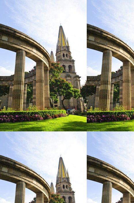 Tapeta Pixerstick Rotunda katedrály Jalisciences a Guadalajaře v Mexiku - Veřejné budovy