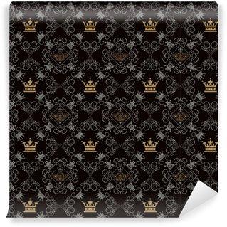 Vinylová Tapeta Royal pozadí, bezešvé vzor