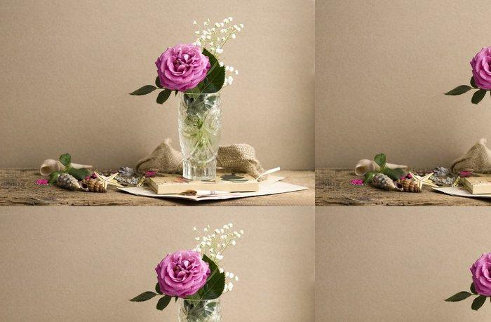 Tapeta Pixerstick Roza - Květiny