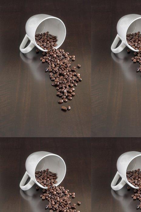 Tapeta Pixerstick Rozlité kávová zrna - Témata