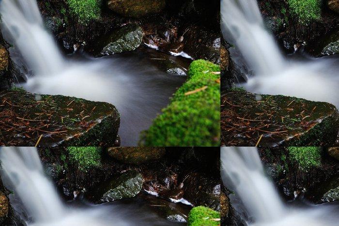 Tapeta Pixerstick Rozmazané vodopád proud - Voda