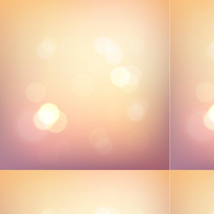 Tapeta Pixerstick Rozostření světla na pastelové pozadí - eps10 - Slavnosti