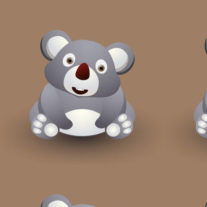 Vinylová Tapeta Roztomilé dítě koala - Pozadí