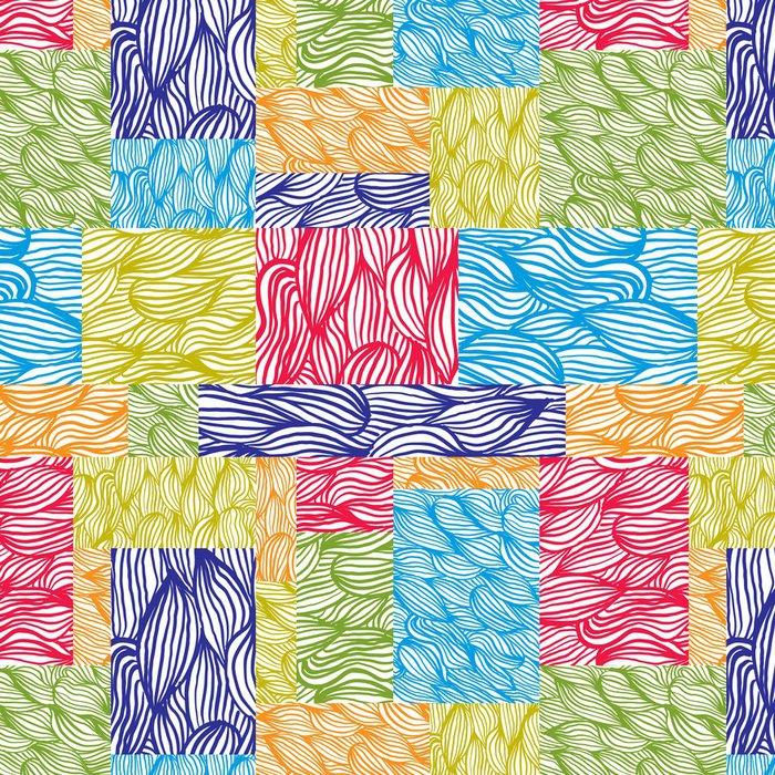 Tapeta Pixerstick Ruční tažené textury bezešvé vzorek, vektorové ručně kreslenými backgrou - Jiné pocity