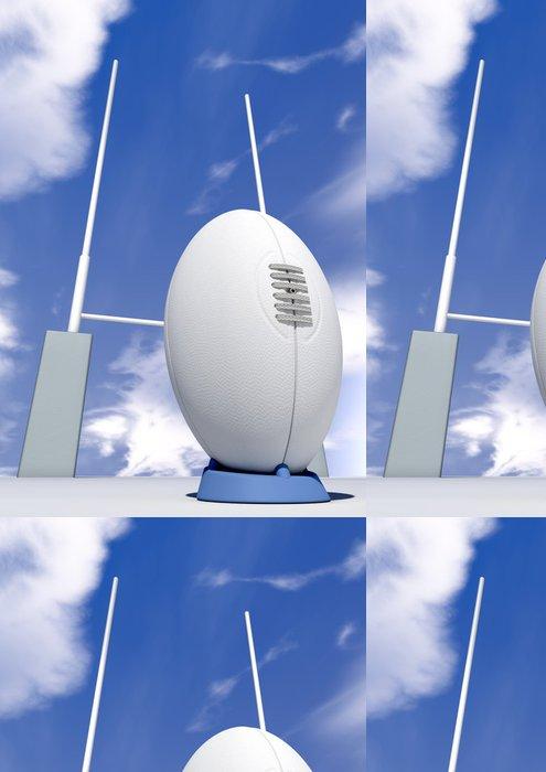 Tapeta Pixerstick Rugby míč Detailní Infront příspěvků - Rugby