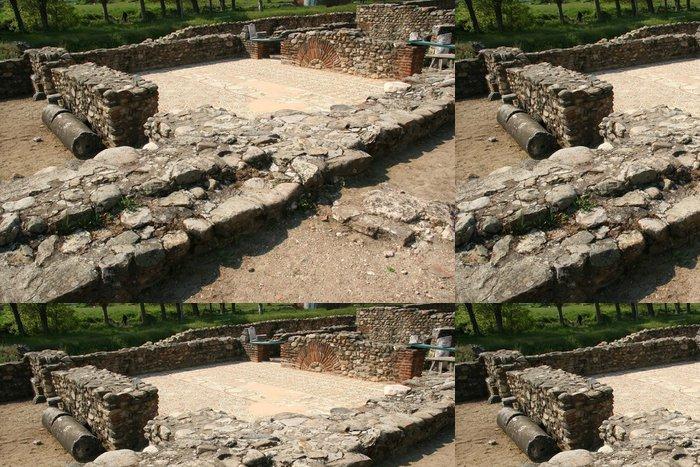 Tapeta Pixerstick Ruiny starověkého města Heraclea - Památky