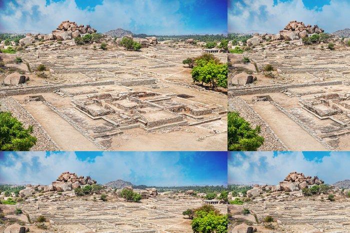 Tapeta Pixerstick Ruiny v Hampi - Asie