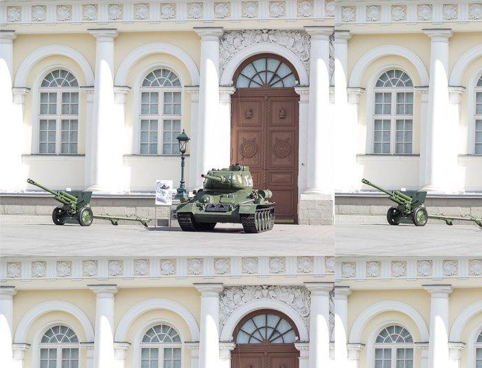 Tapeta Pixerstick Ruská armáda průvod - Asijská města