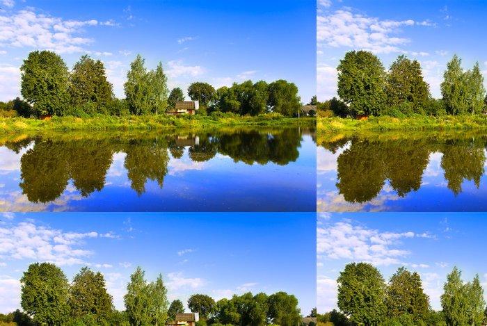 Tapeta Pixerstick Ruská krajina - Nebe