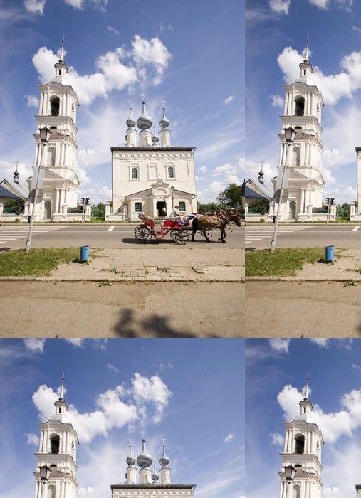 Tapeta Pixerstick Ruština město - Nebe