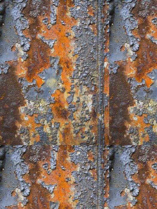 Tapeta Pixerstick Rusty metal panel - Styly