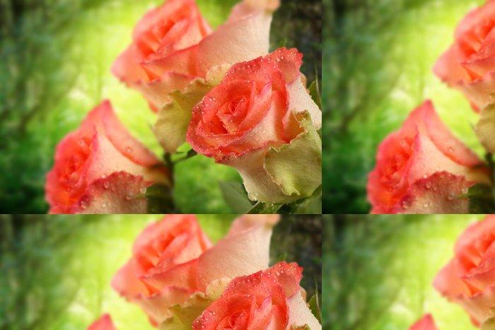Tapeta Pixerstick Růže - Ekologie