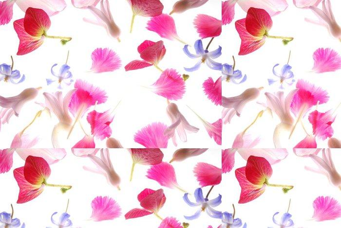Tapeta Pixerstick Růžové okvětní lístky - Roční období