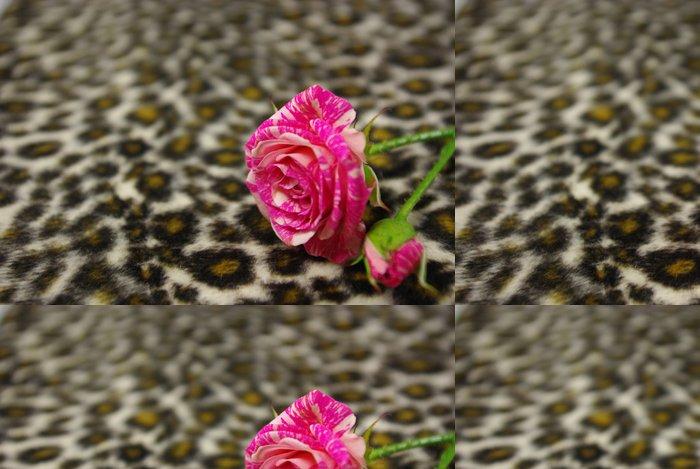 Tapeta Pixerstick Růžové růže - Struktury