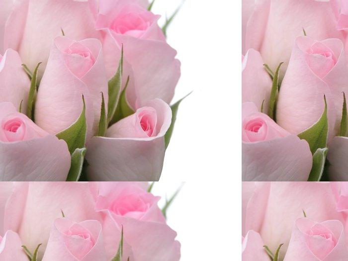 Tapeta Pixerstick Růžové růže - Květiny