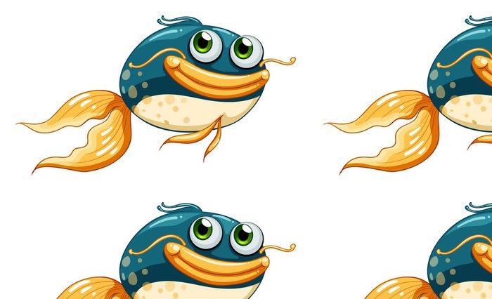Tapeta Pixerstick Ryba s velkýma očima - Nálepka na stěny