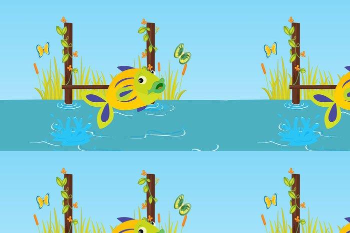 Tapeta Pixerstick Ryba - Vodní a mořský život