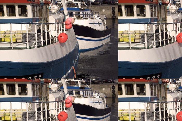 Tapeta Pixerstick Rybářské lodě - Outdoorové sporty