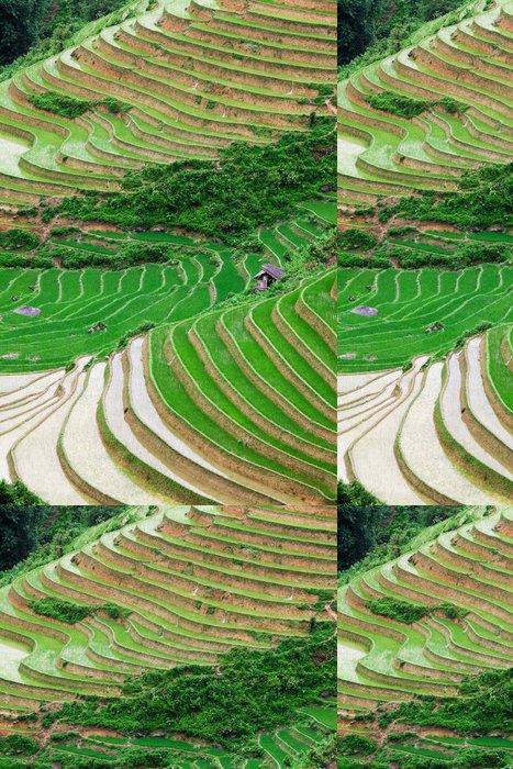 Tapeta Pixerstick Rýže terasa - Asie