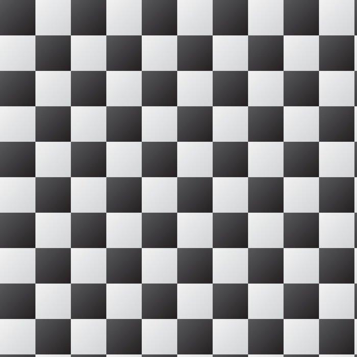 Tapeta Pixerstick Šachovnice abstraktní pozadí - PI-31