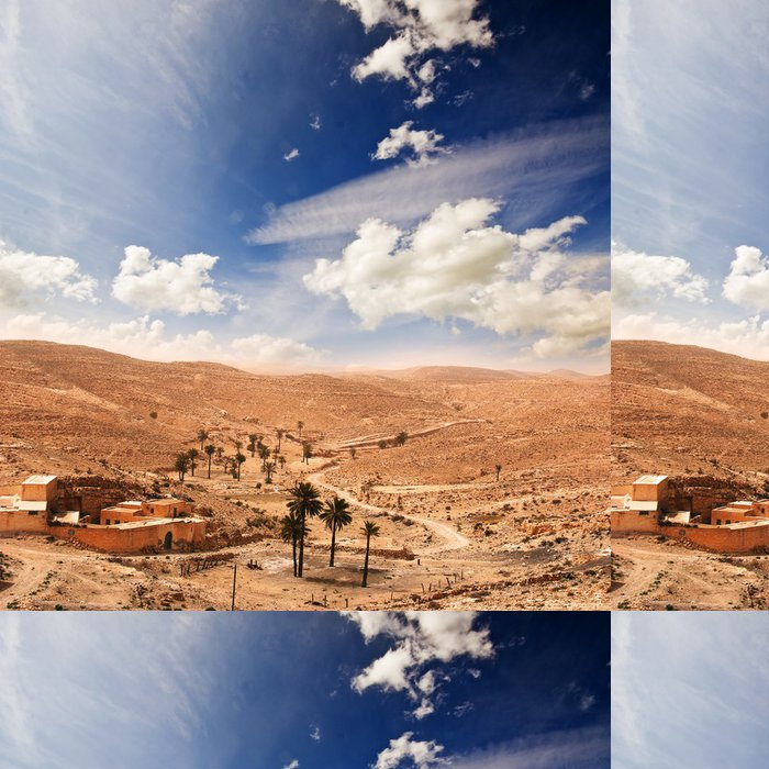 Vinylová Tapeta Sahara v Tunesien - Témata
