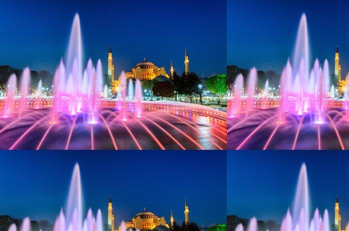 Tapeta Pixerstick Sainte Sophie à Istanboul - Prázdniny