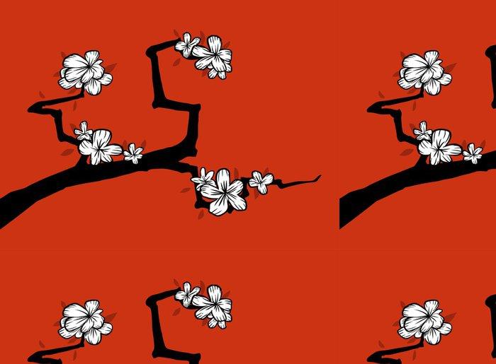 Tapeta Pixerstick Sakura - Rostliny