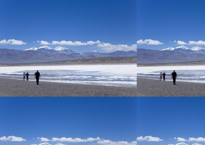 Vinylová Tapeta Salar v Andách - Pouště