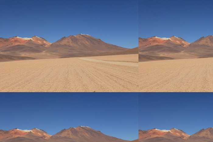 Tapeta Pixerstick Salvador Dalí Wüste Bolivien - Amerika