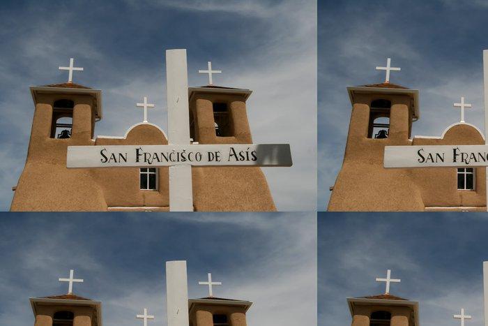 Tapeta Pixerstick San Francisco de Asis Mission Church v Novém Mexiku - Amerika