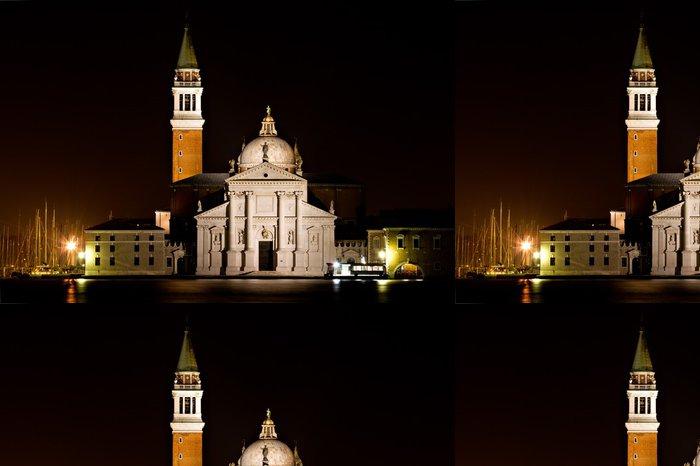 Tapeta Pixerstick San Giorgio Maggiore v noci - Evropská města