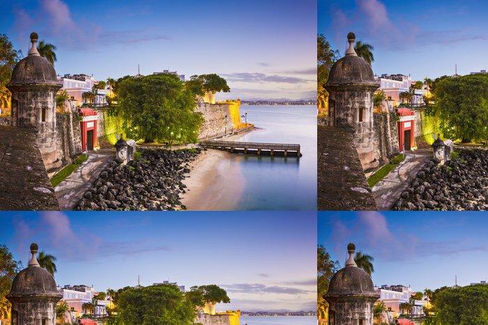 Tapeta Pixerstick San Juan, Puerto Rico na Paseo de la Princesa - Amerika