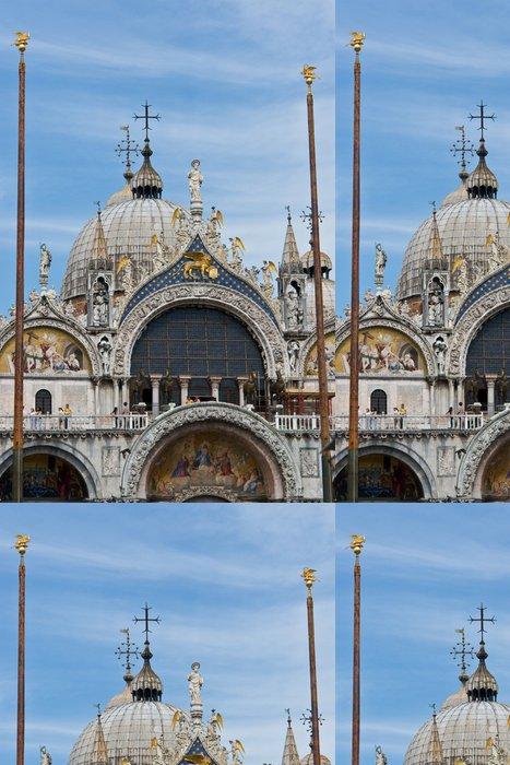 Tapeta Pixerstick San Marco Cathedral, Venice - Evropa