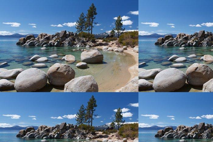 Tapeta Pixerstick Sand Harbor, Lake Tahoe - Amerika