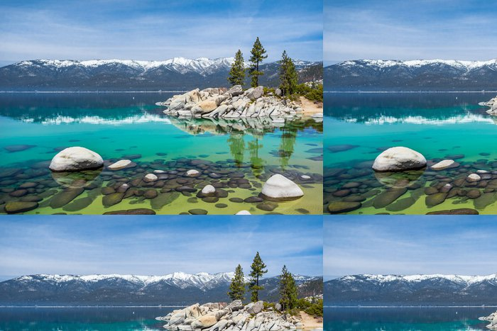 Tapeta Pixerstick Sand Harbor, Lake Tahoe - Témata
