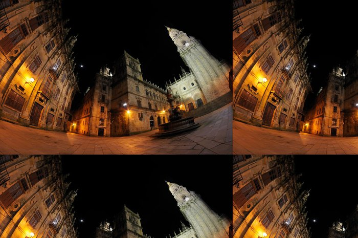 Tapeta Pixerstick Santiago de Compostela - Náboženství
